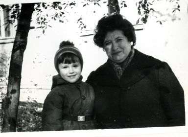 Моя бабушка и я(Глеб)