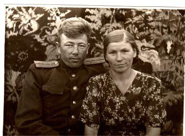 Брат Василий с женой Раисой.