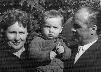 С внуком, 1967 г.