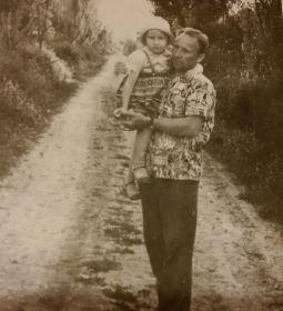 Михаил Кузьмич и дочь Нина