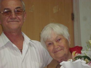 дочь Ольга и я внук (маме 80 лет)