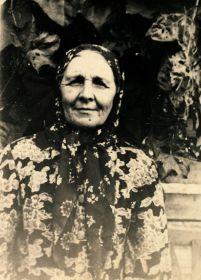 Мама Михаила Фектистовича - Василиса Мироновна Текучёва