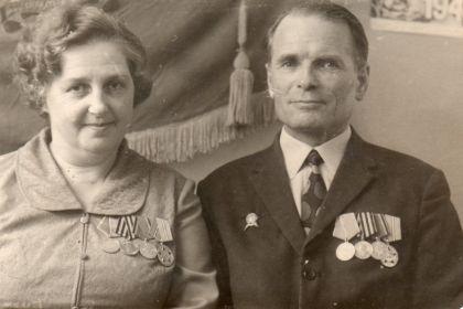 С женой Людмилой Владимировной Демидовой