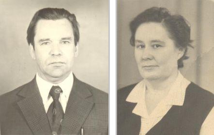 С супругой Первуниной Ниной Евгеньевной