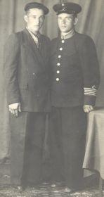 Дедушка справа с младшим родным братом Алфеем 22.06.54г.