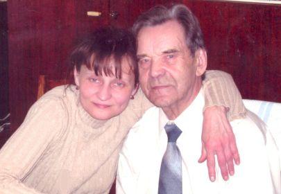 С дочкой Ольгой, моей мамой 09.05.2007