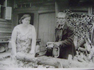 С невесткой Людмилой