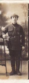 Александр Трофимович, красноармеец (конец 20-ых годов прошлого XX века)