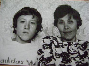 Августа с сыном Игорем (1952г.р.)