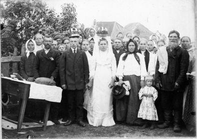 Федотовы Филипп Кузьмич и Матрена Алексеевна (родители) 1914 г.