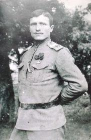 Отец ветерана - Темяков Михаил Степанович