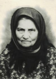 Мать погибших братьев Клокотовых - Анисья Николаевна Клокотова 1888 -1965