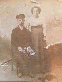 мои прабабушка и прадедушка   Николай Григорьевич  и Александра Павловна Чистяковы