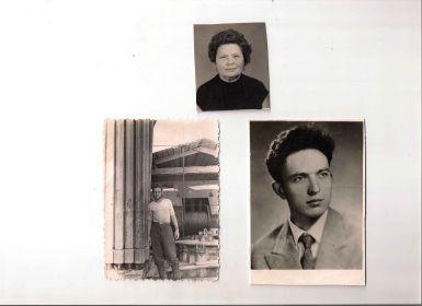 Соколова(Харченко)Валентина Ивановна моя Бабушка и их сын Виталий Алексеевич мой Отец (погиб в 1967 году