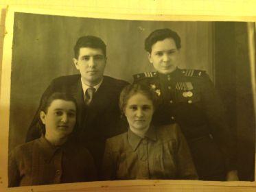 1949-1950(??) справа жена Блажена Николаевна