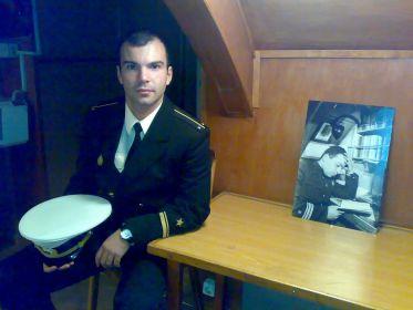 На фото внук Илья, 2010 год, г. Североморск