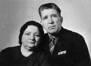 Иван Иванович с супругой Анастасией Семеновной