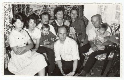 Июнь 1982 г. - с семьей