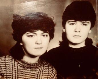 Внучки Галина и Лариса Жучевы