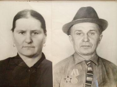 Торопова Екатерина Калиновна, жена