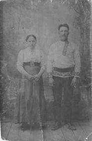 Скворцов Степан Иванович - отец; Скворцова Мария Ивановна - сестра отца