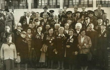 Встреча ветеранов 13 гвардейской дивизии: Баранчеев Владимир Сергеевич, Баранчеева Надежда Васильевна