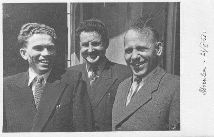 Госэкзамены в ВКШ 21.05.1958 г., Москва