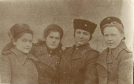 1944 г./ Новичкова Надежда Павловна, Дремова Екатерина Павловна, Бурылова Нина Матвеевна