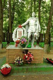 Памятник. Братская могила (офицерское кладбище) http://belinklg.ucoz.ru/index/gorod_spas_demensk/0-259