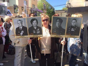 Бессмертный полк. Симферополь. 9 мая 2016