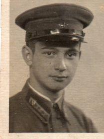 "23.08.1941 подпись на фотографии ""Корешу Вити от кореша Саши"""