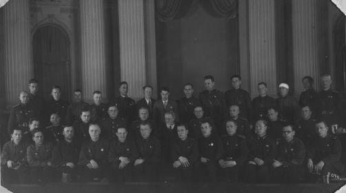 Малыгин В.А. в Кремле на вручении ордена (второй ряд, третий справа)
