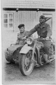 Андрей (фамилия неизвестна). Ташкент, 1944 г.