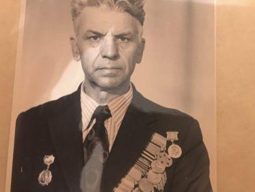 Санников Дмитрий Петрович - командир взвода управления 7-й батареи.