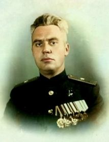 Командир 12 гв.ТК Теляков Николай Матвеевич
