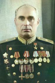 Герой Советского Союза Абрамов Тихон Порфирьевич - командир 107 ТБр