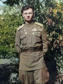 Тиньков Николай Сергеевич- замполит батальона