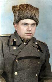Постригань Василий Михайлович - замполит 152 отд. танковой бригады