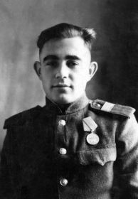 Шабушкин Тимофей Андреевич, 1922-23.12.1944, сержант, воздушный стрелок
