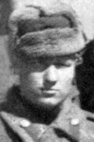 Федоренко Константин Тимофеевич, 1922-?, ст. сержант тех. службы