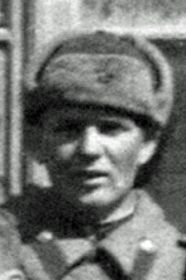 Гриниченко Георгий Иванович, ст. сержант, механик по вооружению