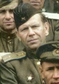 Румянцев Николай Ильич- замполит полка с сентября 1944г.