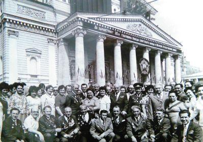 Встреча однополчан 105 габр БМ 7 адп РГК 1975 г.