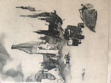 Фронтовая зарисовка из Бреслау после штурма