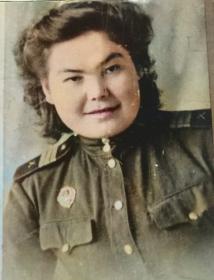 Гакова(Чистякова) Зоя Васильевна