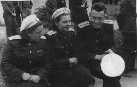 1943-45, Главный госпиталь ВМФ, Москва