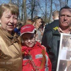 9 мая 2015 г Бессмертный полк в Ярославле - мы будем вас помнить всегда! На фото справа его племянник - Габов А.В.