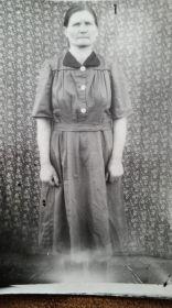 Конкина Валентина Тихоновна, сестра первой жены Варвары Тихоновны