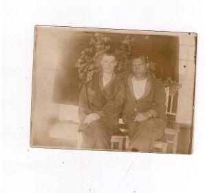 Военный госпиталь 1944 год Королев Александр Дмитриевич с товарищем