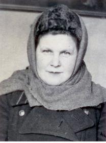 Жена Ясинского В.С. - Сытченко Клавдия Трофимовна (1906 - 1965 г.г.)